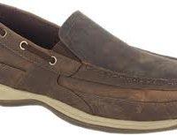 Rockport Slip On Steel Toe Boat Shoe