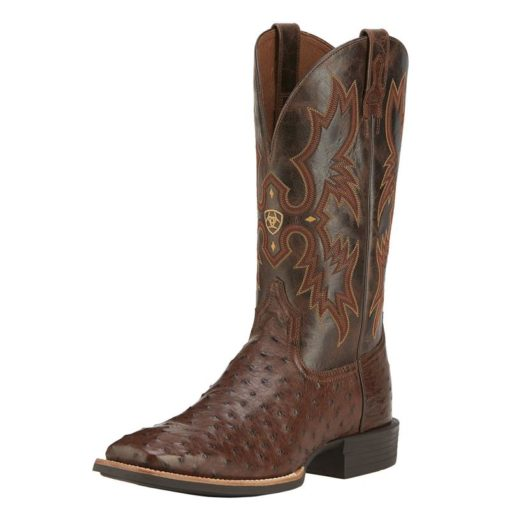 Ariat Full Quill Ostrich Square