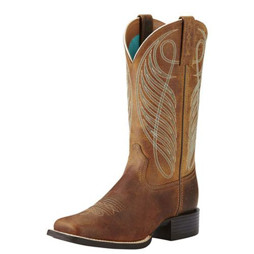 Ariat Round Up Wide Square Toe