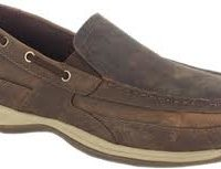 Rockport Slip On Steel Toe Boat Shoe