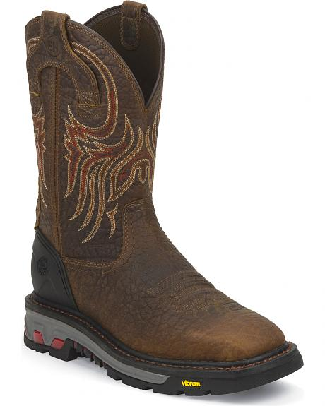 Justin COMMANDER-X5 WORK BOOT