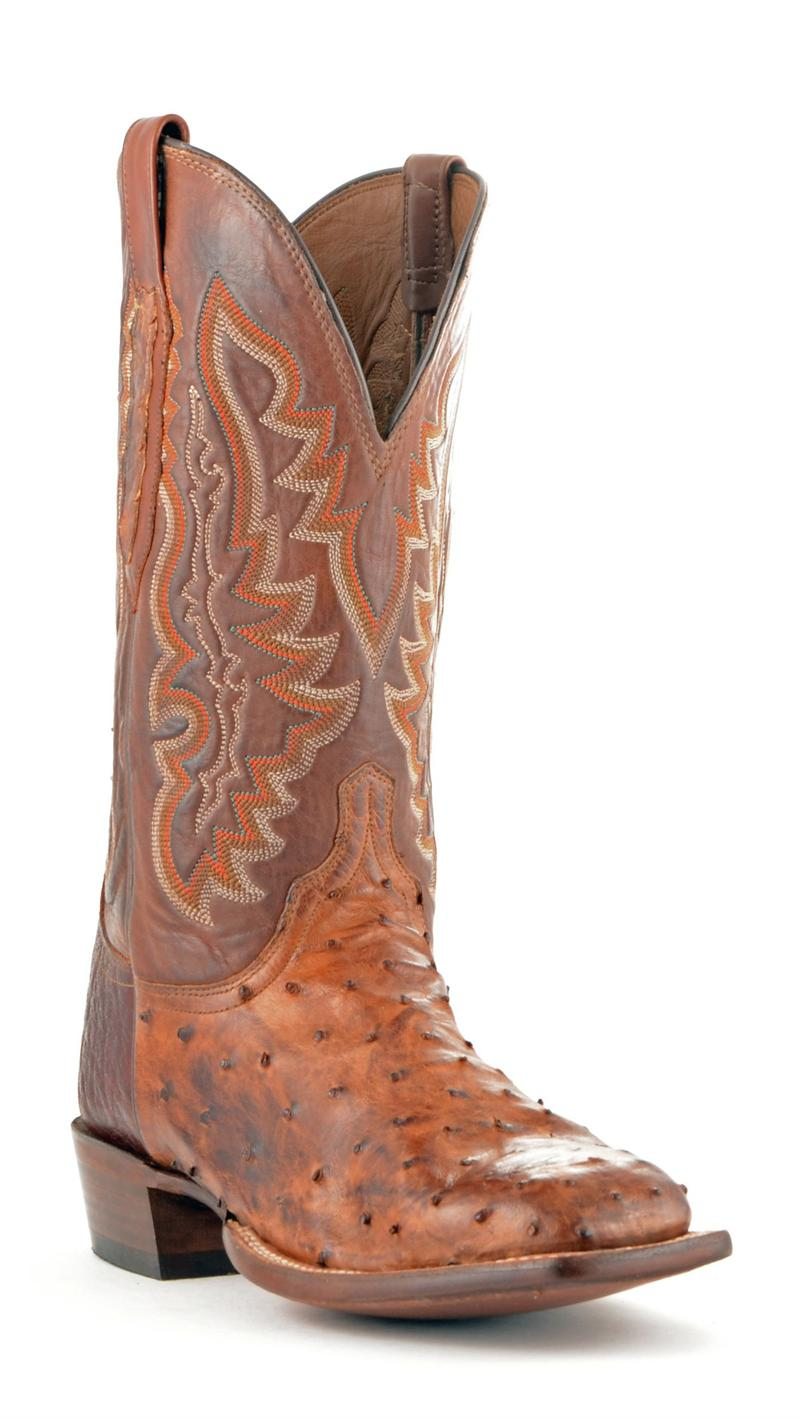 Lucchese Full Quill Ostrich Boot Outlet